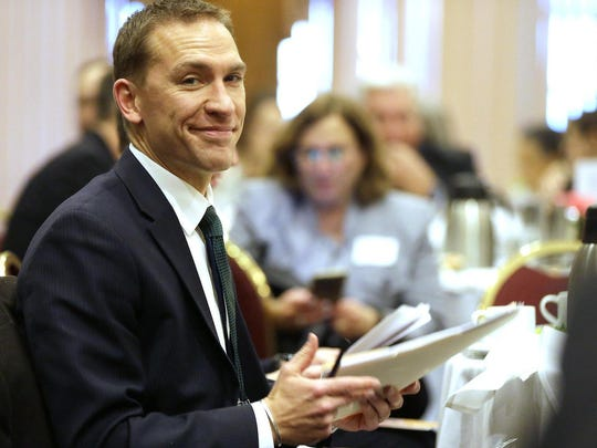 State Sen. Chris Larson announced a second bid for Milwaukee County executive.