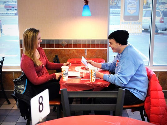 fries, romance mix at white castle on valentine's day, Ideas