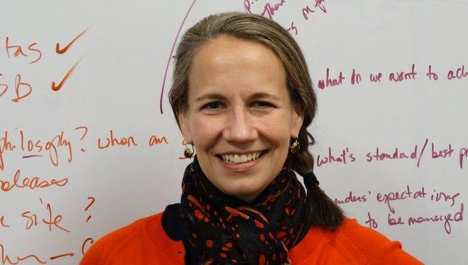 Katrine Bosley, CEO of Editas Medicine.