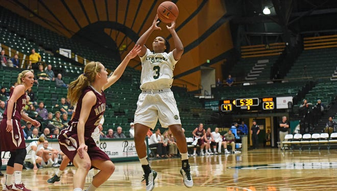 CSU's Keyora Wharry had 12 points, four rebounds, three assists and three steals on Thursday as the Rams beat Montana 75-43.