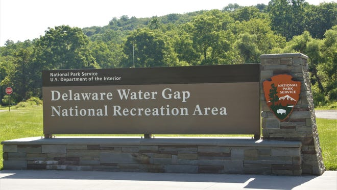 The Route 209 entrance to the Delaware Water Gap National Recreation Area in Middle Smithfield, Pa. {New Jersey Herald file photo]