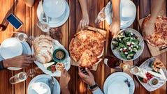 A new study suggests eating dinner earlier could lower