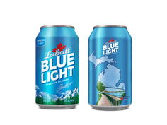 Labatt Blue releases cans featuring top Michigan landmarks