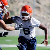 UTEP football linebackers compete for playing time under new coach