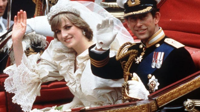 Remember this? Prince Charles and Lady Diana Spencer's spectacular royal wedding on July 29, 1981. The Princess and Prince of Wales wave from carriage on their wedding day