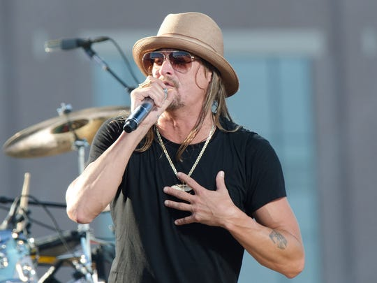 Kid Rock will perform at this year's Bayfest in Mobile.