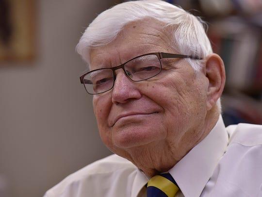 The Rev. Dr. Victor F. Halboth.