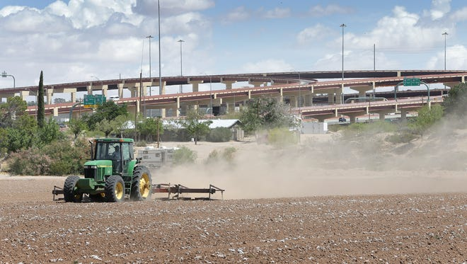 Jose Gonzalez, who operates West Retail, said he plans to develop the 240-acre Plaza del Rey shopping center where farmland is now located at Interstate 10 and Americas Avenue in East El Paso.