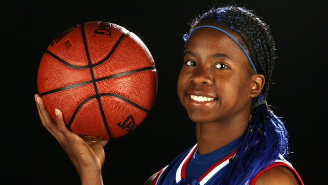 Teisha King, a senior guard with Americas High School was the 2009 El Paso Times All-City Most Valuable Player in girl's basketball.