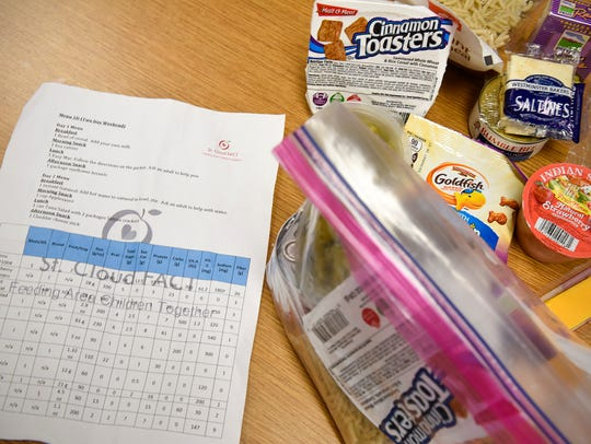 A group is organizing a program to help feed student