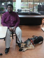 Mackenzie King, 50, a visually impaired Tallahassee