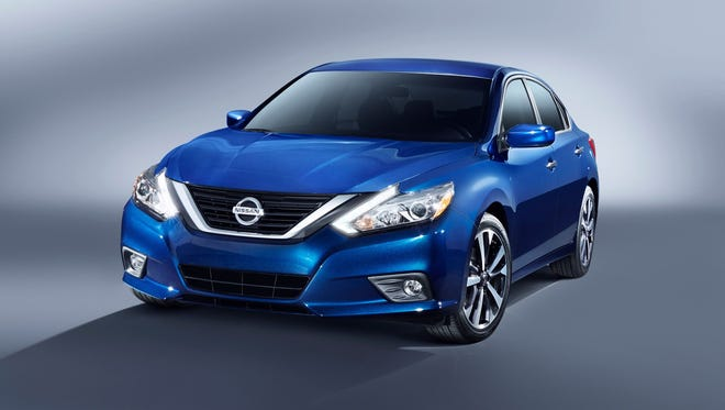 Nissan is recalling certain 2013 to 2016 Altima midsize cars and some 2016 Maxima large cars due to a possible fuel leak in crashes.