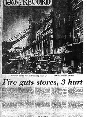 Daily Record, January 15, 1972, fire story (Jim McClure's blog)submitted