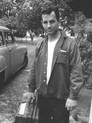 """Jack Kerouac, shown in 1958, was living in Orlando when he found out his novel, """"On the Road,"""" was going to be published. Kerouac remains an author who inspires both young and old."""