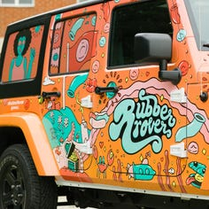 Have you seen this weird car around Milwaukee? It's part of a safe-sex program