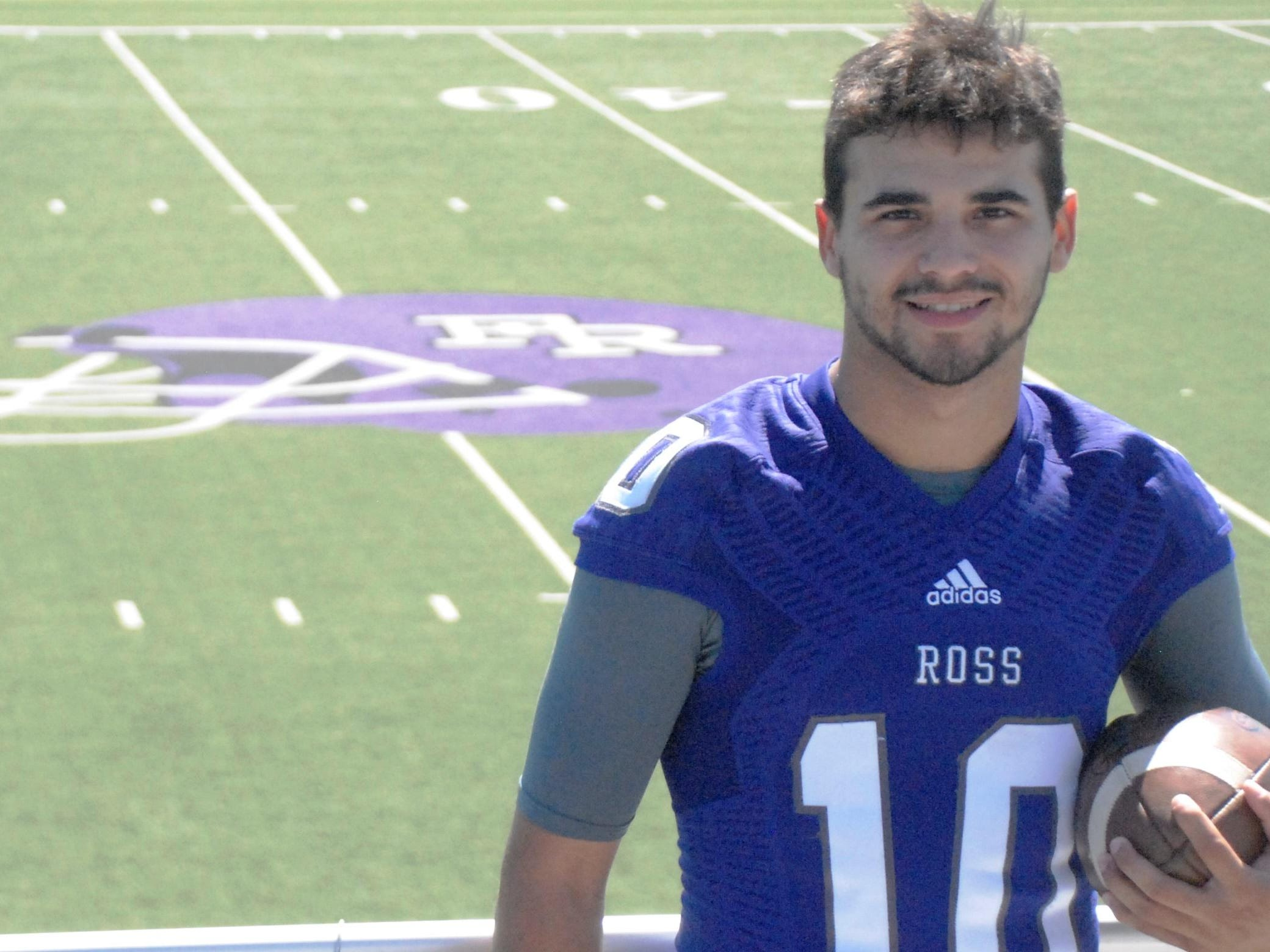 Fremont Ross graduate Jalen Slick, a News-Messenger Michael Bosi Award winner, turned in a record-breaking senior season on the football field, leading the Little Giants to the playoffs.