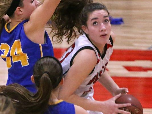 Homestead Girls Basketball vs Germantown