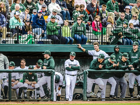 Michigan State's baseball team is 30-11 and 10-5 and in good position to earn the NCAA tournament bid it missed out on last year.