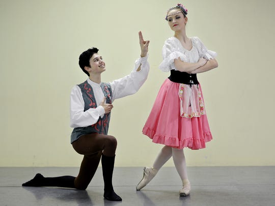 Ballet Arts Jackson will present its 2017 spring production of 'Coppelia,' April 1-2, at the Carl Perkins Civic Center.