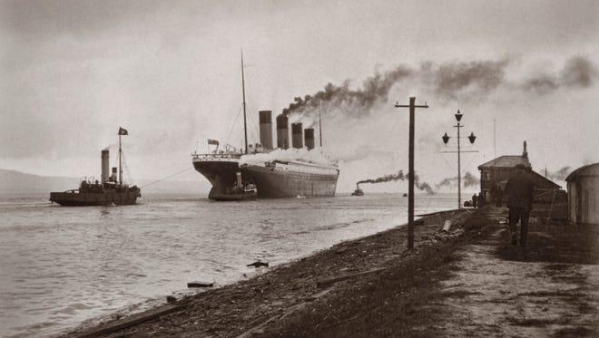A photo of the Titanic.