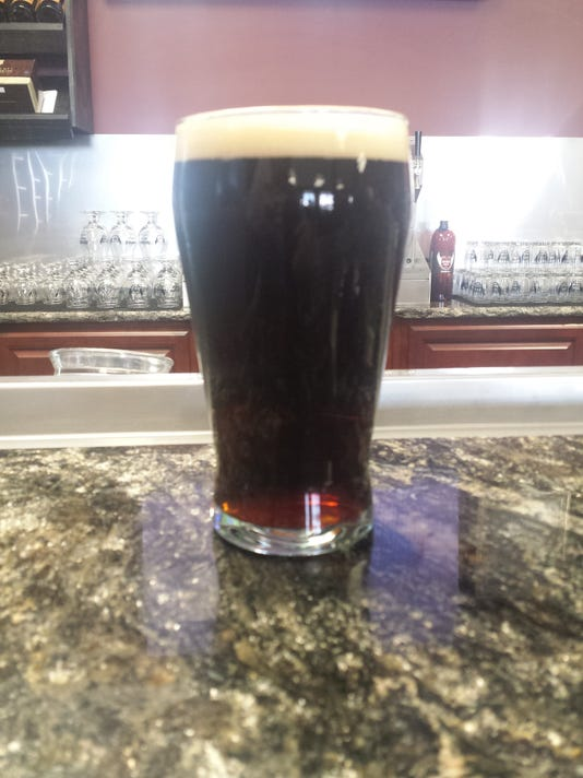 Carson's Brewery recently released a Black IPA called The Darkness. It lives up to its name.