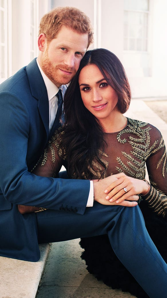 Image result for Prince harry meghan markle engagement photo