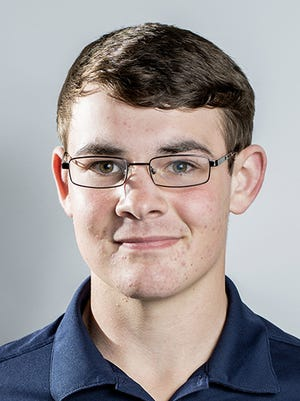 Eastern York's Andrew Davis, a GameTimePA all-star golfer. Portrait taken Thursday, Nov. 12, 2014, at Spring Grove.