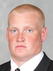 Maryland defensive tackle and former Spring Grove Rocket David Shaw