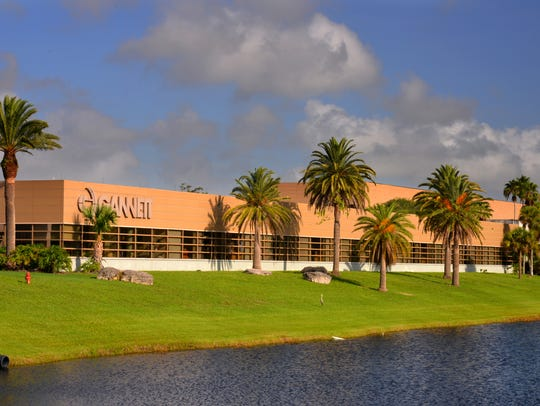 The Florida Today building on US1 in Melbourne.
