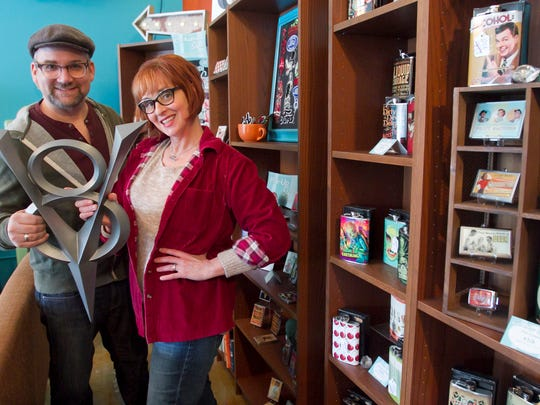 Doug and Kirsten Pagacz, owners of Retro-a-Go-Go! in