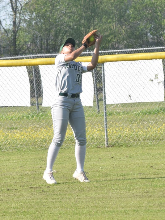 Rapides High School girls' softball team vs. Holy Savior Menard girls' softball team Tuesday, March 21, 2017.