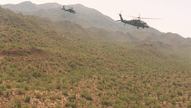 Arizona's military bases — along with other Defense Department bases in Southern California and U.S. Navy assets that train from coastal waters off California — share a reliance on the Barry M. Goldwater Range.