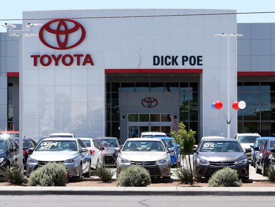 Son's fight over Dick Poe dealerships heads to trial