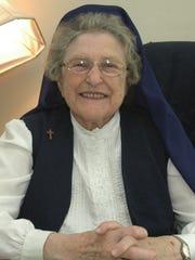 The late Sister Virginia Lee Vanderlick around 2009.