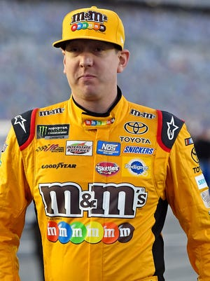 Kyle Busch finished 16th at Richmond after a costly commitment line violation late.