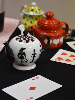 Lola Dial's collection of whimsical teapots are used to serve. Marco Island Parks & Recreation will host its annual Mother/Daughter Mad Hatter Tea Party Saturday morning at Mackle Park.