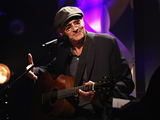 James Taylor will be in Bozeman on July 18.