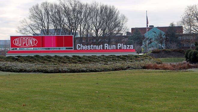 DuPont headquarter to move from DuPont building downtown to Chestnut Run location.