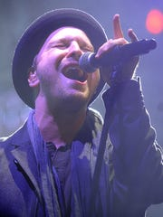 Gavin Degraw (pictured) and Matt Nathanson will perform July 20 at Farm Bureau Insurance Lawn at White River State Park.