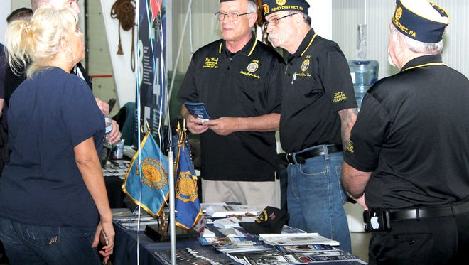 The Veterans' Expo in York included exhibitors representing everything from VA benefits counselors, retirement living and healthcare professionals to finance, home improvement, legal services and continuing education opportunities.