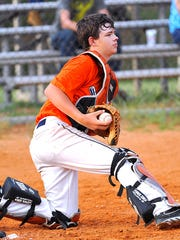 Andrew Morton is pictured during a Dixie Youth baseball