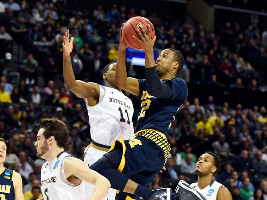 NCAA Basketball: NCAA Tournament-First Round-Notre Dame vs Michigan