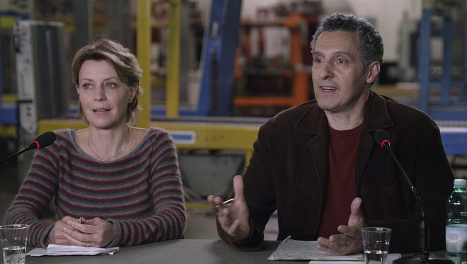 "Margherita Buy and John Turturro on ""Mia Madre."""