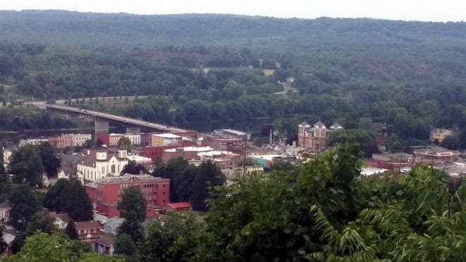 Owego, as seen from Cemetery Hill