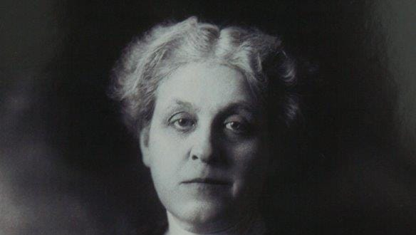 Carrie Chapman Catt, a leader of the women's suffrage movement and founder of the League of Women Voters. Photo courtesy of Carmino Ravosa.