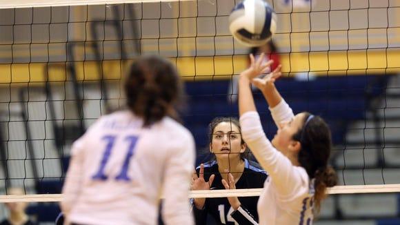 Rye Neck's Elizabeth Mioli takes position against Haldane