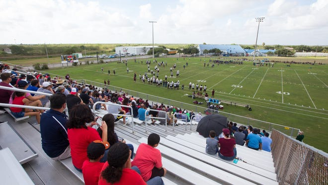 The Cabaniss Soccer Field, which also has junior high football games, will have turf installed if a $194 million bond is passed by voters by Nov. 8.