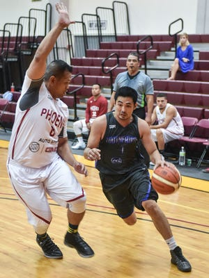 The Autospot Phoenix played the Harmon Loop Dental Tooth Fairies in a Guam Basketball Association playoff game at the Phoenix Center in Mangilao on Oct. 27.