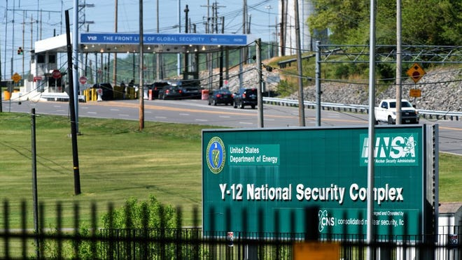 The East Portal at the Y-12 National Security Complex Wednesday, April 20, 2016. (MICHAEL PATRICK/NEWS SENTINEL)
