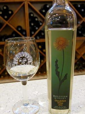Dandelion Wine is a seasonal treat from Bellview Winery.